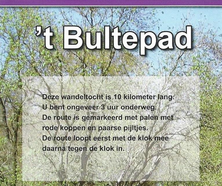 Wandelroute 't Bultepad