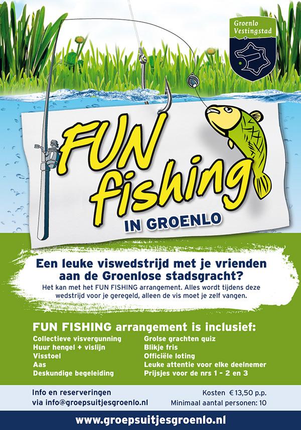 Fun Fishing Groenlose stadsgracht