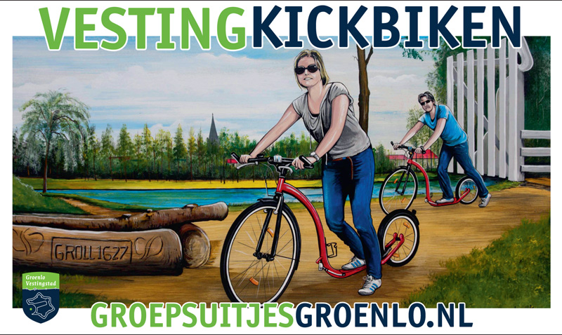 Vesting Battle op de Kickbikes