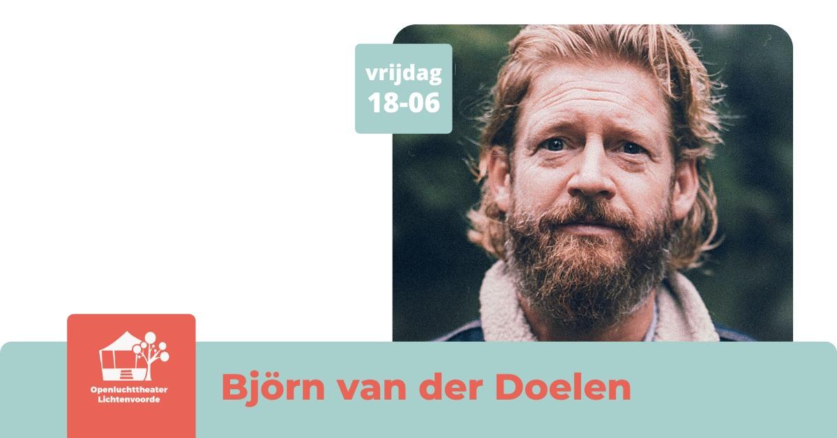 Openluchttheater: Björn van der Doelen