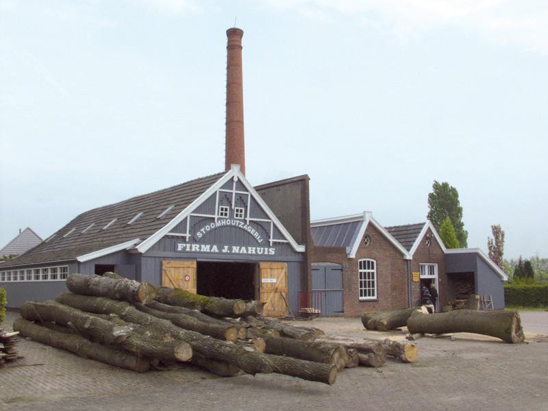Kijkdag stoomhoutzagerij Nahuis in Groenlo